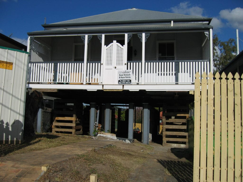home in brisbane in house raise process
